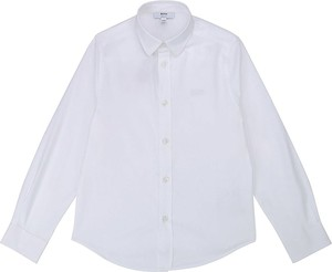 Koszula dziecięca Hugo Boss z bawełny