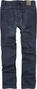 Granatowe jeansy Emp w stylu casual z bawełny