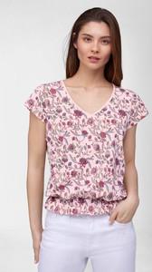 T-shirt ORSAY z dekoltem w kształcie litery v w stylu casual