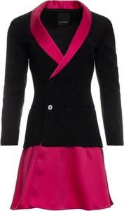 Sukienka Pinko mini w stylu casual kopertowa