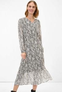 Sukienka ORSAY z długim rękawem w stylu casual z tkaniny