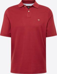 Koszulka polo Fynch Hatton z krótkim rękawem z tkaniny