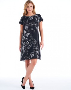 Sukienka POTIS & VERSO z szyfonu