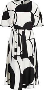 Sukienka Marella midi z krótkim rękawem