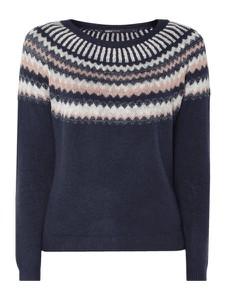 e063141704f668 Niebieski sweter Only w stylu skandynawskim w stylu casual
