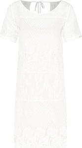 Sukienka Liu Jo Beachwear z okrągłym dekoltem w stylu casual