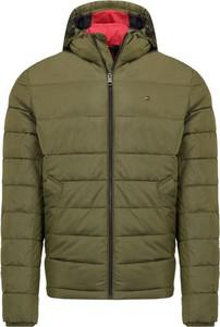 Zielona kurtka Tommy Hilfiger w stylu casual