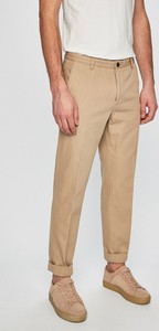 Spodnie Tommy Hilfiger Tailored z bawełny