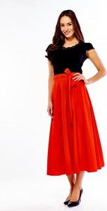 b5414fdf spódnice rozkloszowane midi - stylowo i modnie z Allani