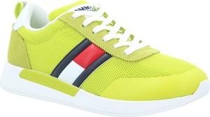 Tommy Hilfiger Sneakersy | z dodatkiem skóry