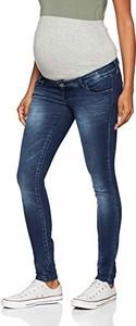 Jeansy Mama Licious z jeansu w street stylu