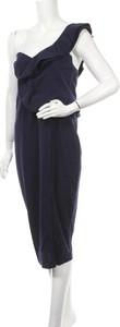 Sukienka Pretty Winter midi z dekoltem w kształcie litery v bez rękawów