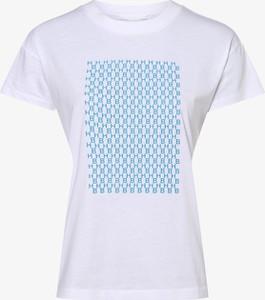 T-shirt Hugo Boss z krótkim rękawem z okrągłym dekoltem w młodzieżowym stylu