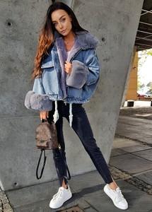 Kurtka Ligari z jeansu