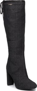 Czarne kozaki Big Star za kolano
