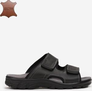 Czarne buty letnie męskie born2be