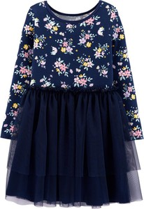 Sukienka dziewczęca Carter's z tiulu