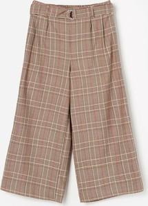 Spodnie dziecięce Reserved w krateczkę