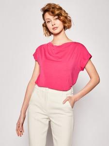 T-shirt MaxMara w stylu casual z krótkim rękawem