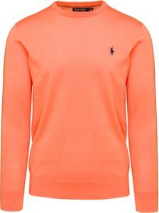 Pomarańczowa koszulka polo POLO RALPH LAUREN