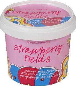 Bomb Cosmetics Strawberry Fields | Peeling pod prysznic 375g - Wysyłka w 24H!
