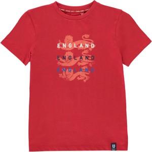 Czerwona koszulka dziecięca Fa