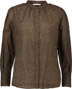 Brązowa bluzka Marc O'Polo z bawełny