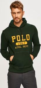 Zielona bluza POLO RALPH LAUREN z bawełny