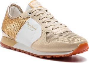 Sneakersy Pepe Jeans sznurowane