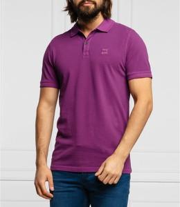 Koszulka polo Hugo Boss w stylu casual z krótkim rękawem