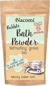 NACOMI Puder do kąpieli - Odświeżająca zielona herbata 100g+50g