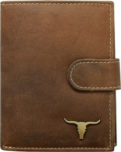 7582ec0ea28c0 Brązowy portfel męski Buffalo Wild ze skóry