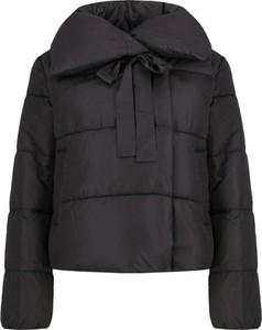 Czarna kurtka Trussardi Jeans w stylu casual