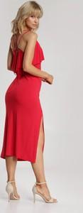 Sukienka Renee z okrągłym dekoltem midi