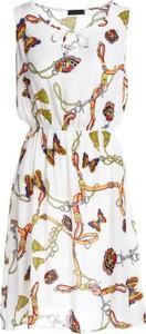Sukienka Multu mini bez rękawów w stylu casual