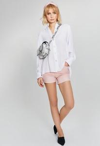 Różowe szorty Monnari z jeansu