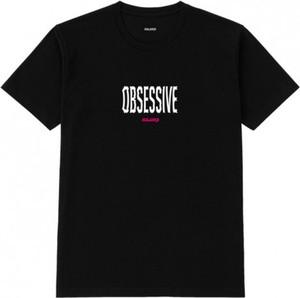 Czarny t-shirt MAJORS z krótkim rękawem