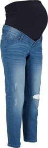 Dżinsy ciążowe z bawełny organicznej | bonprix