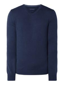 Niebieski sweter Christian Berg Men z wełny