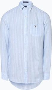 0b60b66c23 koszula lniana biała męska - stylowo i modnie z Allani