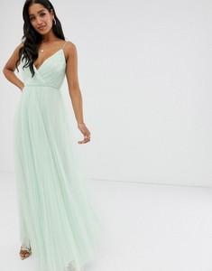 Sukienka Asos Design na ramiączkach z dekoltem w kształcie litery v