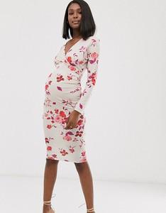 Różowa sukienka Blume Maternity
