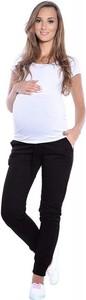 Czarne spodnie sportowe Inne z bawełny