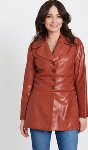 Czerwona kurtka Marcelini krótka