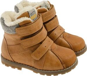 Buty dziecięce zimowe Cool Club na rzepy dla chłopców