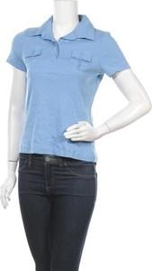 Niebieska bluzka Top Secret z krótkim rękawem
