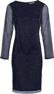 Sukienka Ashley Brooke By Heine z długim rękawem midi