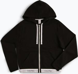 Calvin Klein - Damska bluza rozpinana, czarny