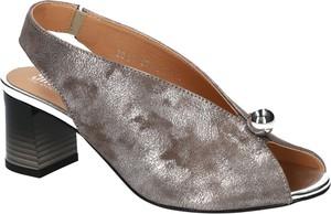 Sandały SIMEN z nubuku