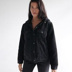 Kurtka Sinsay z jeansu w stylu casual